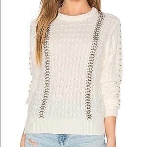 Endless Rose beaded sweater